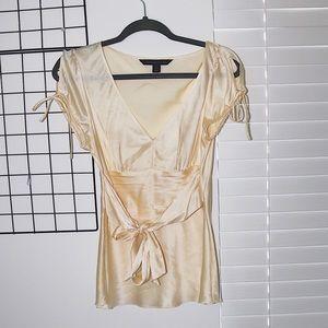 express silk top, size M